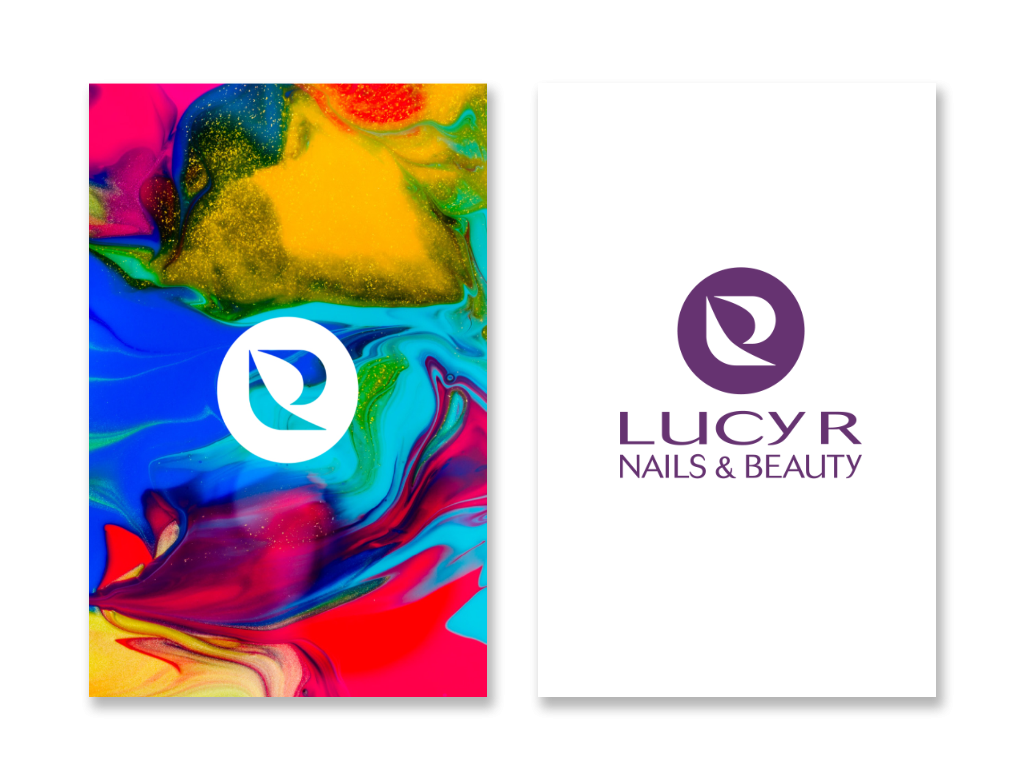 Example of Lucy R Business cards