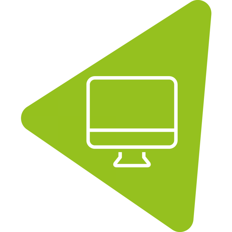 Service Web and Digital Icon